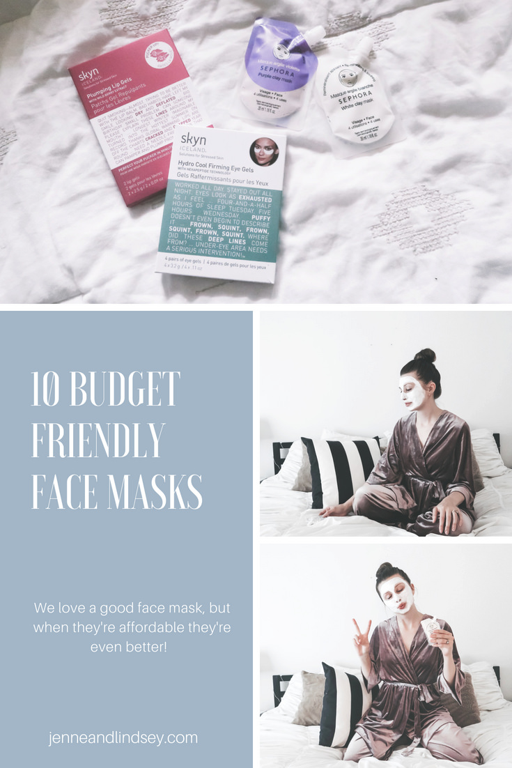 We all love a good face mask, but when they're affordable there's even more to love!  We talk about 10 different masks that are affordable yet still do the job.