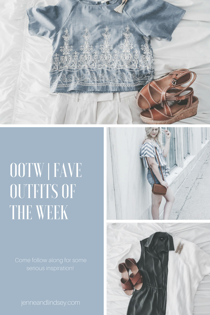 Check out our favorite outfits of the week to inspire you to try new things with the clothes you already have and to be confident in them!