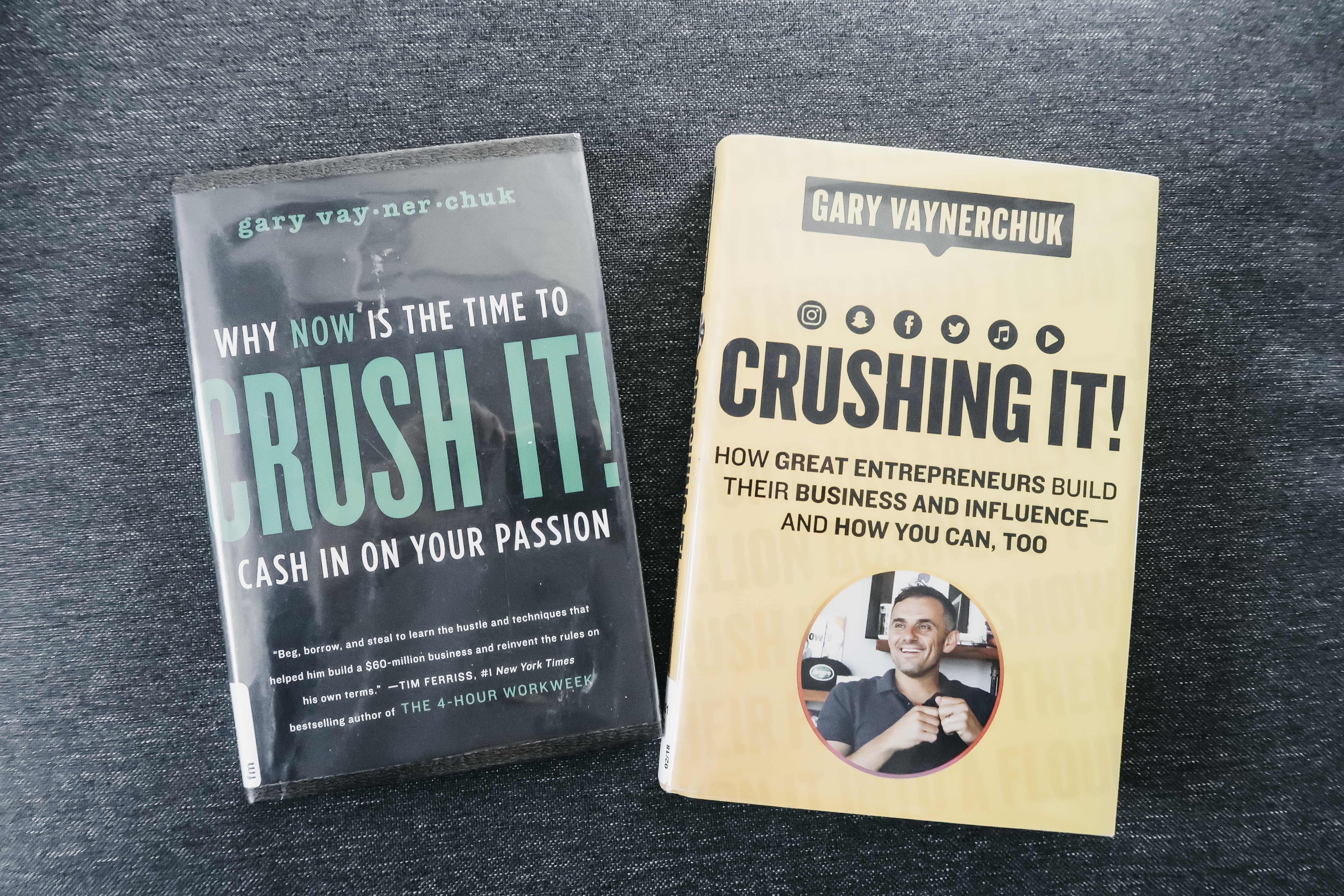 Crush It! and Crushing It Book Review 2