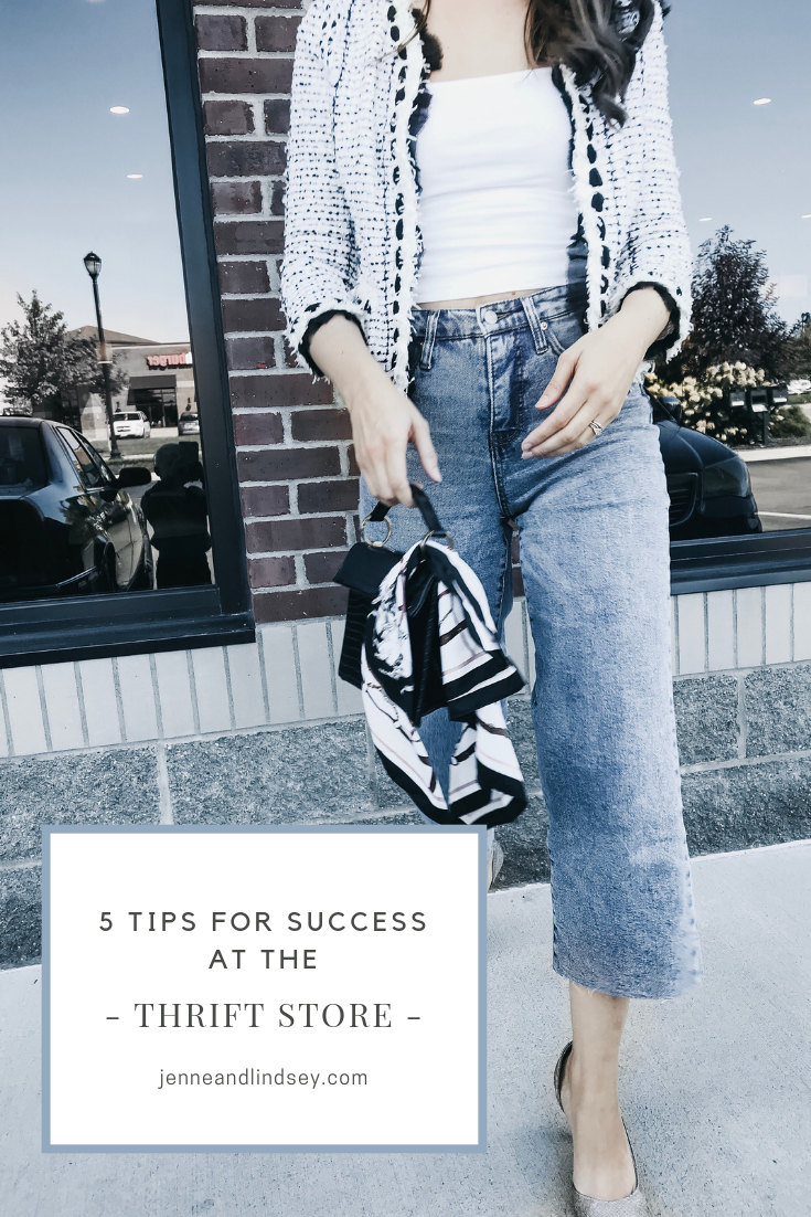 With these 5 tips we are certain you can be successful at thrifting too!