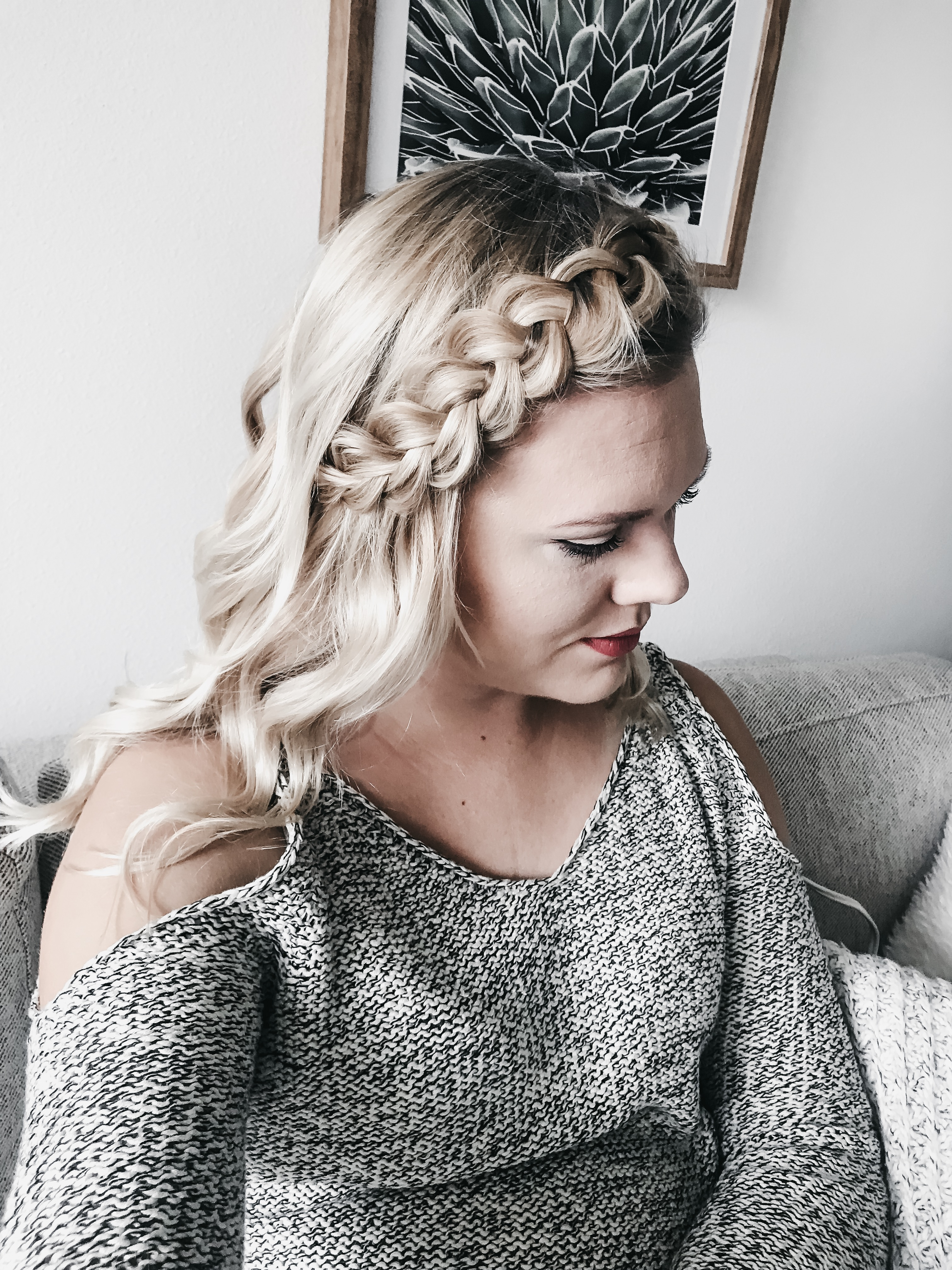 Tips For a Full Braid With Fine Hair 4