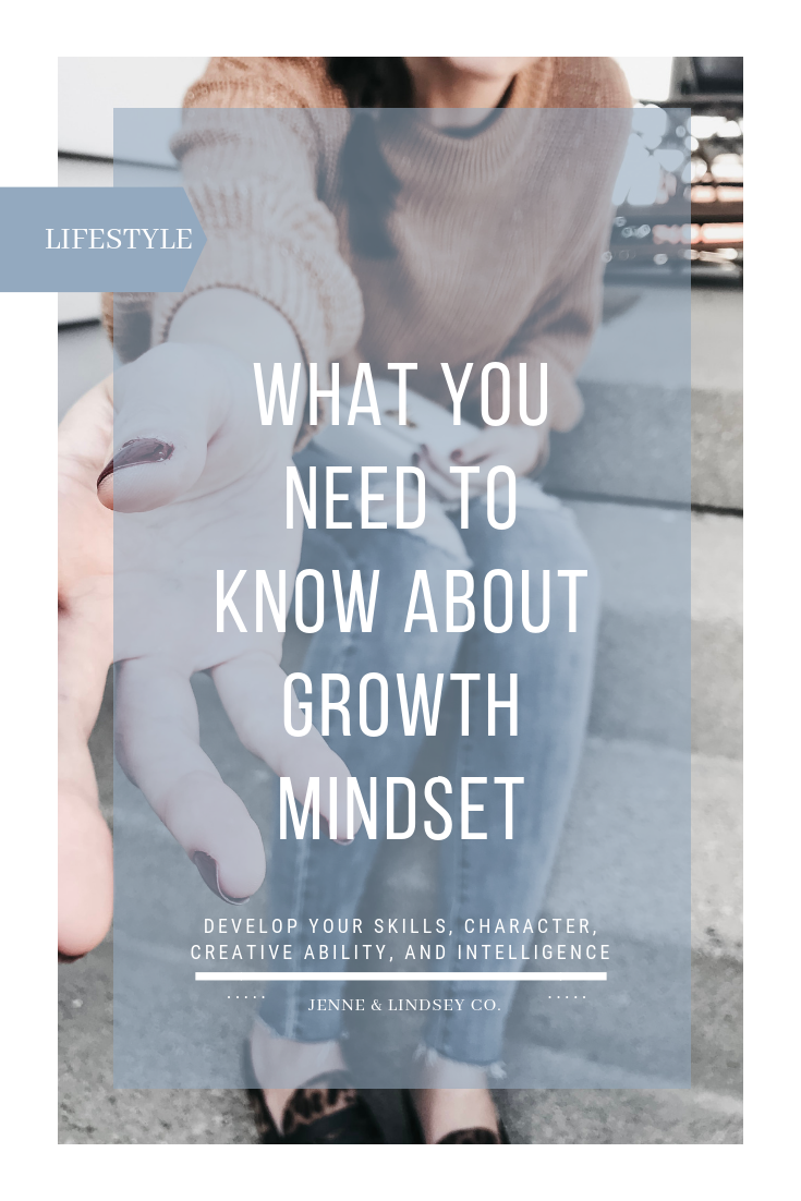 Do you believe that your mindset affects your life? We are defining growth mindset and talking about why YOU need it in your life!
