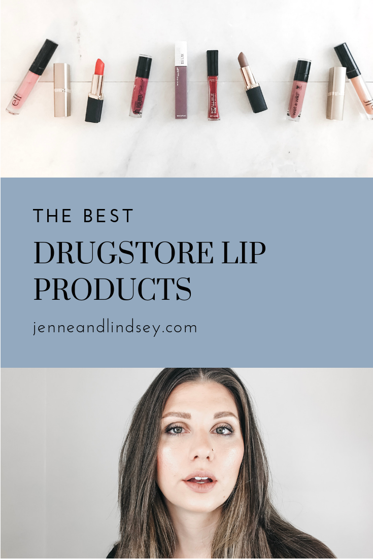 Did you know that the drugstore is a great place to find lip products? From glosses, to lipsticks, to liquid lipsticks we are dishing on our faves!