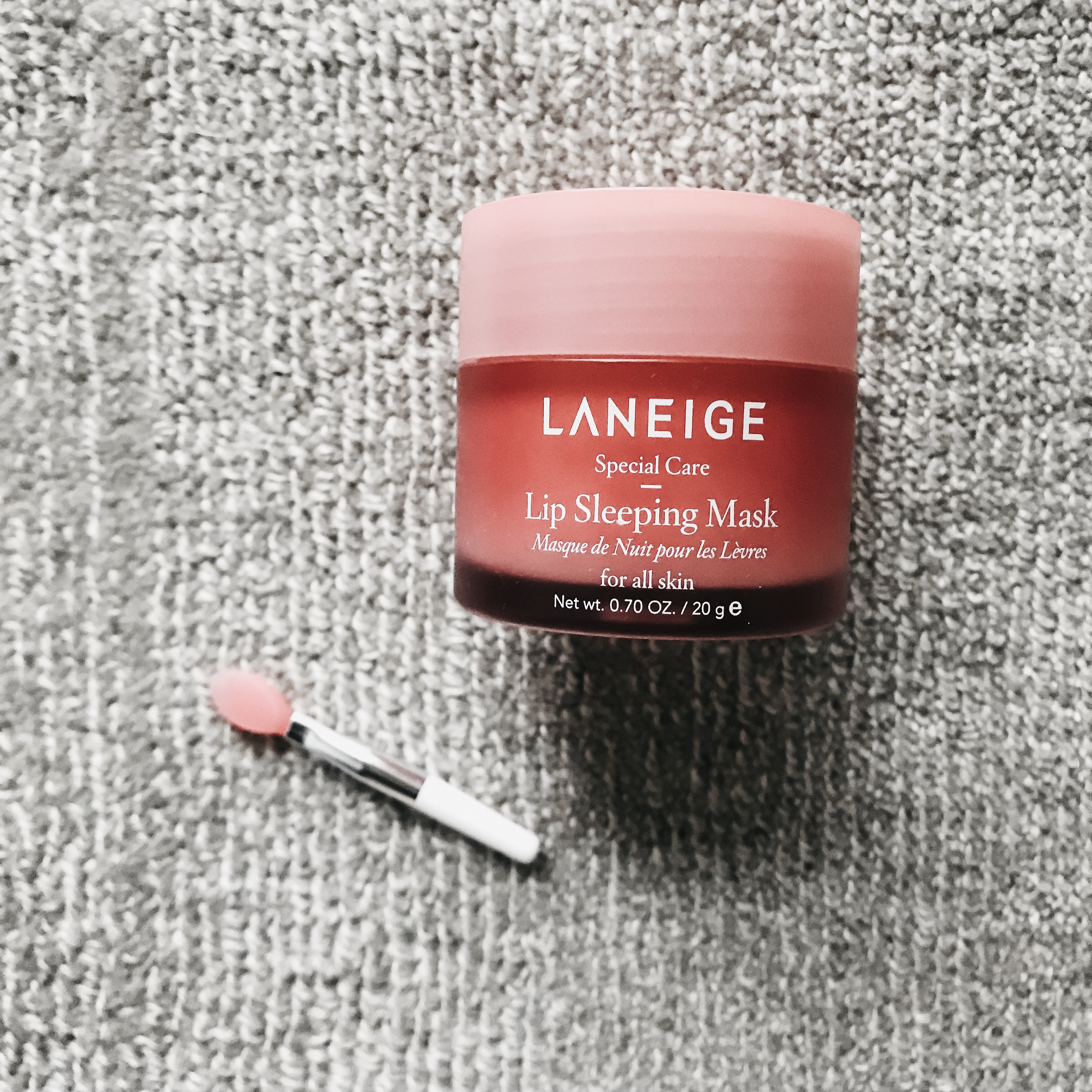 First Impressions of the Laneige Lip Sleeping Mask 2